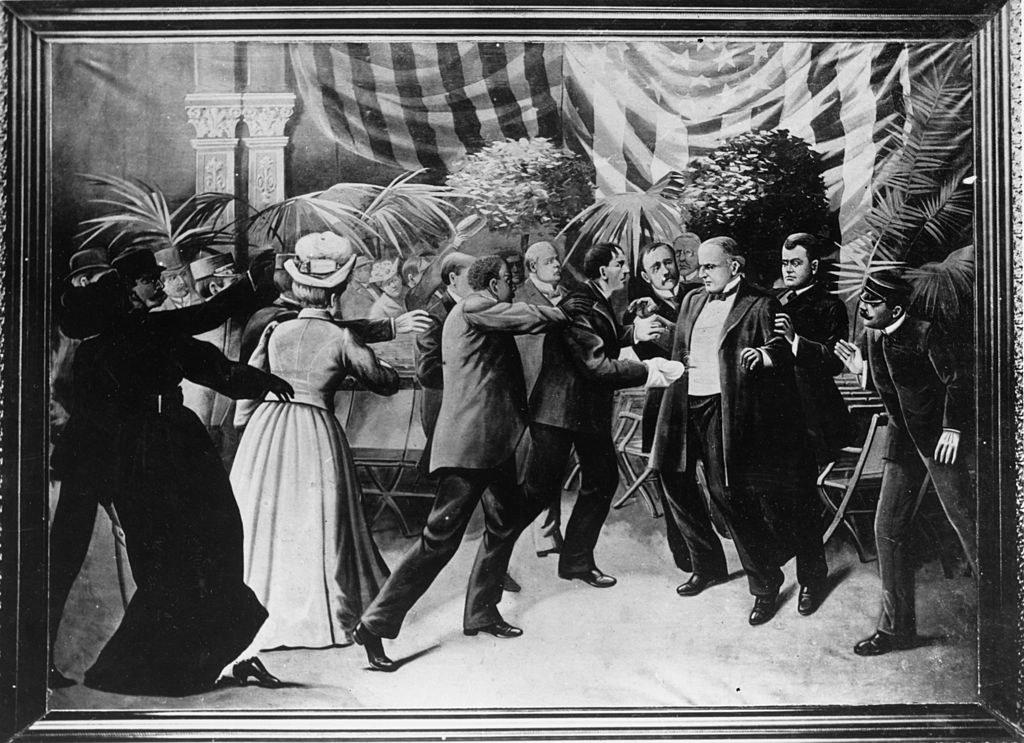 A portrait of McKinley's assassination