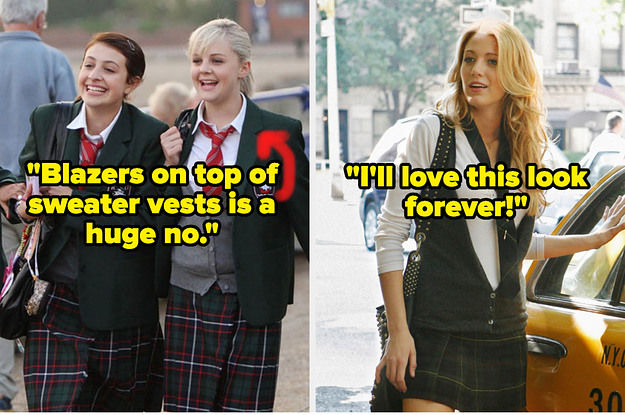 """16 TV And Movie School Uniforms Ranked From """"I Could Wear That Everyday"""" To """"Get That Off Me Now"""""""