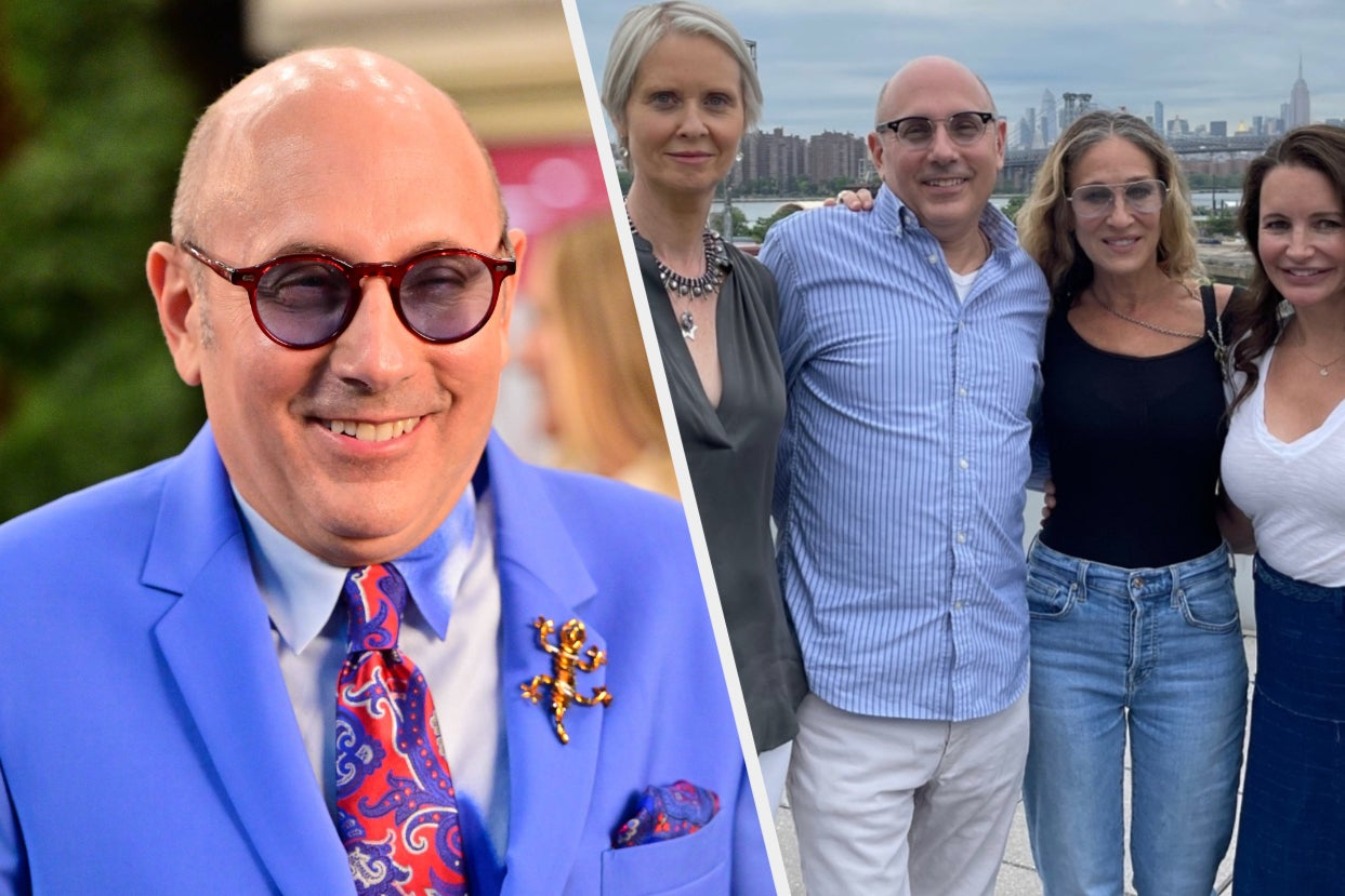 """""""Sex And The City"""" Stars Including Kim Cattrall And Kristin Davis Have Shared Moving Tributes To Willie Garson After He Died Months After The Reboot Began Production"""