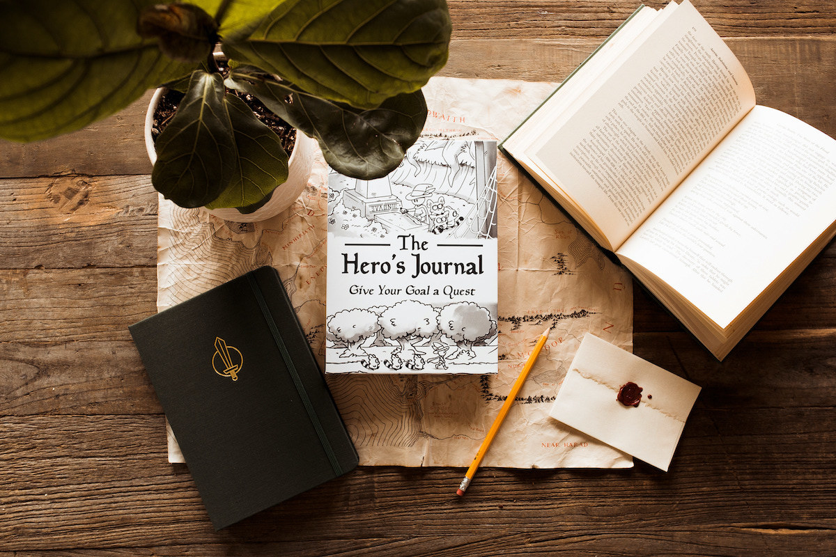 the quest journal