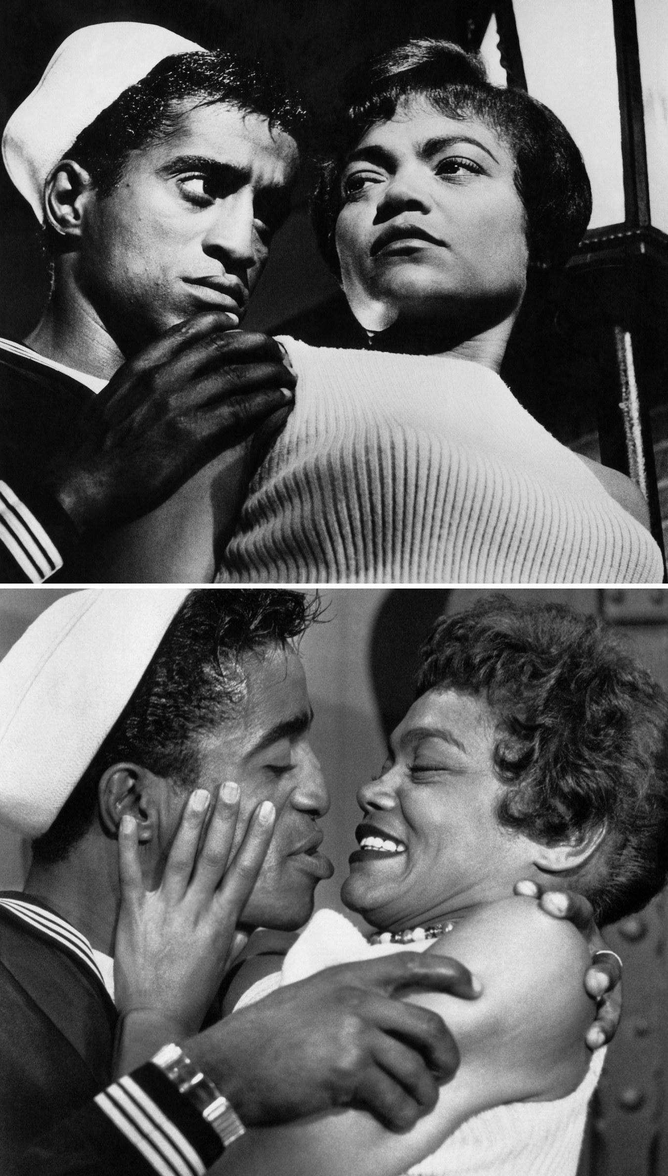 "Kitt and Davis in ""Anna Lucasta"" in 1958"