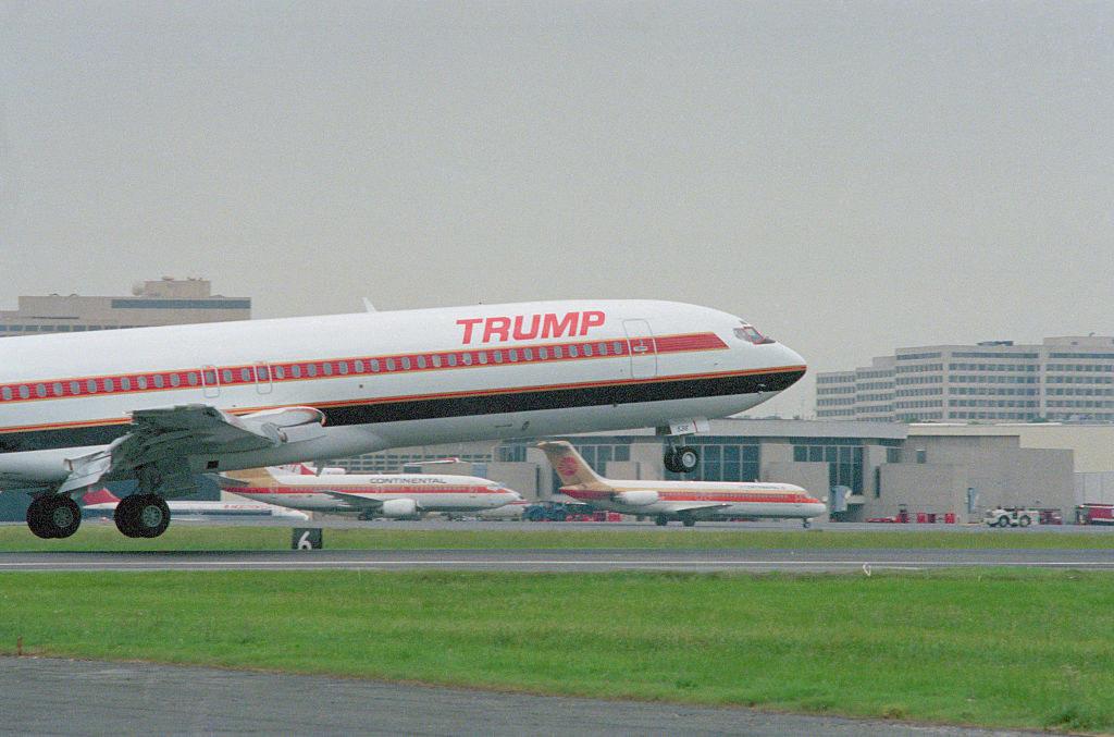 A Trump plane