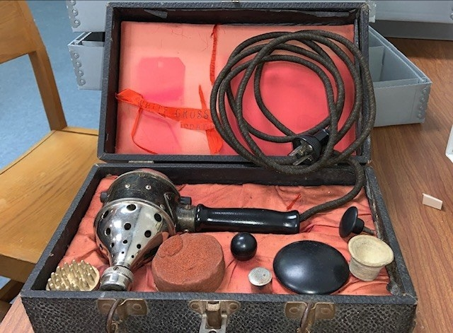 An electric vibrator from the 1900s