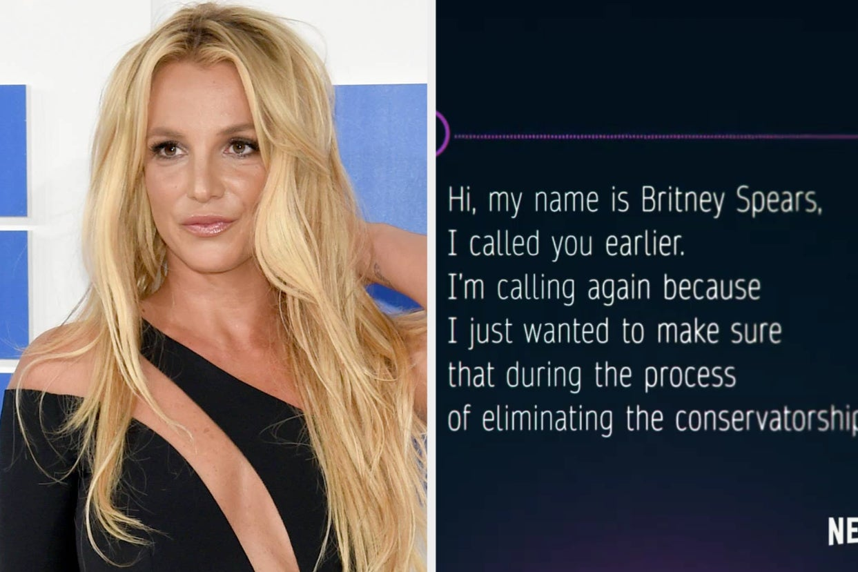 """Britney Spears Can Be Heard Asking To End Her Conservatorship In A 2009 Voicemail Message To Her Lawyer Featured In The New Netflix Documentary """"Britney Vs. Spears"""""""