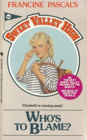 Vintage book cover shows red title text and illustration of a teen girl