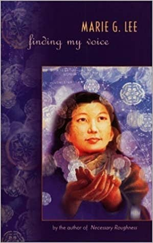 Purple book cover with illustration of an Asian American teen girl on the right side