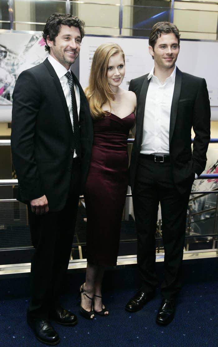 Patrick Dempsey, Amy Adams and James Marsden