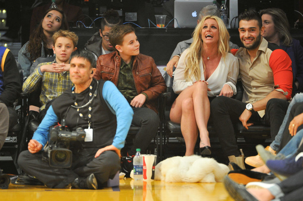 pic of britney and her sons