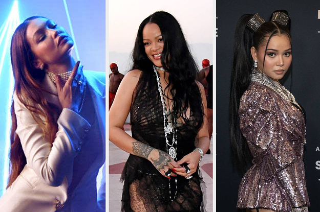 """19 Pics Of Celebs At Rihanna's """"Savage X Fenty Show Vol. 3"""" That Might Make You Say, """"Ooooh"""""""