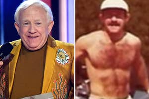 leslia jordan then and now, then with a 6 pack
