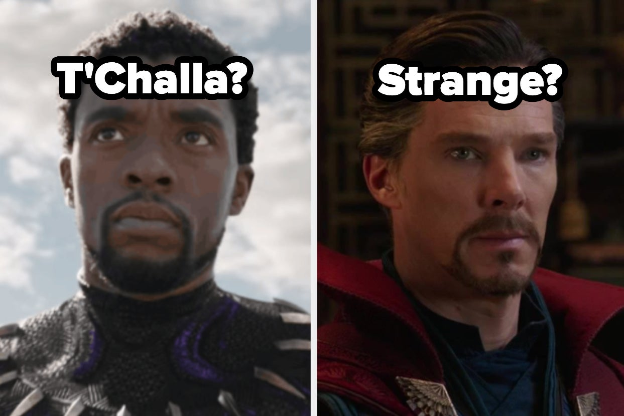 True Marvel Fans Will Have A Tough Time Choosing Between These Male Characters