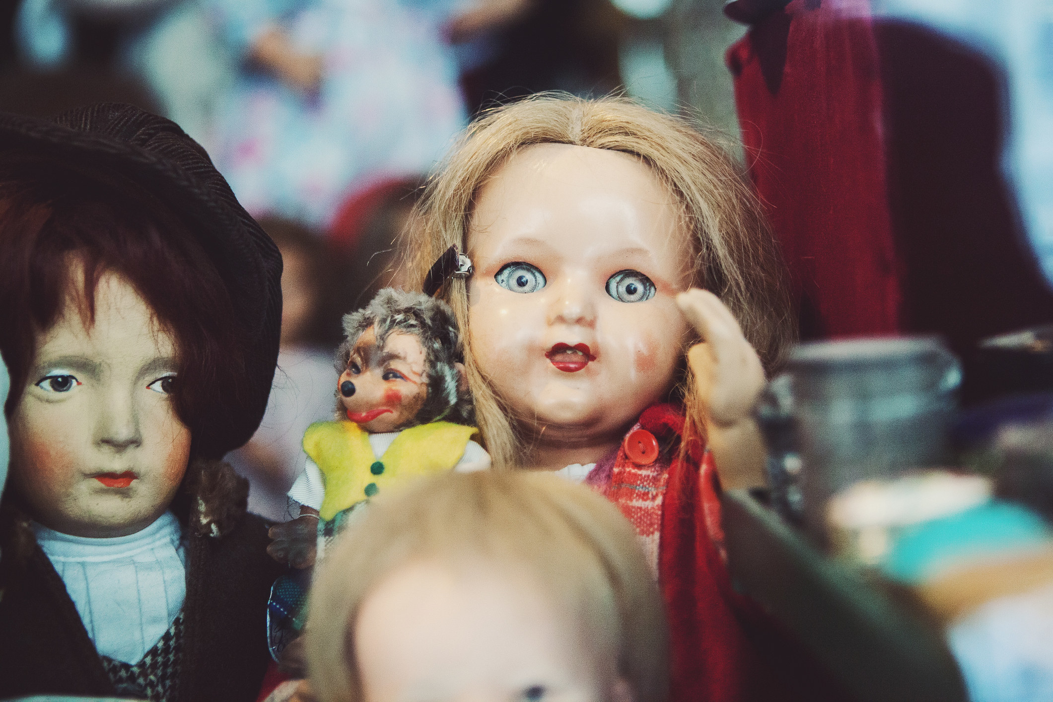 Scary old dolls