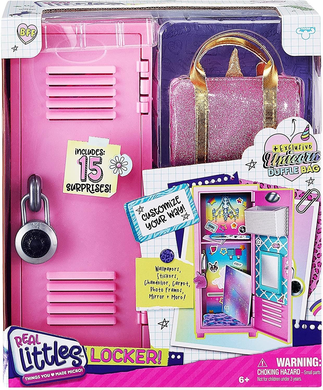 mini locker rosa