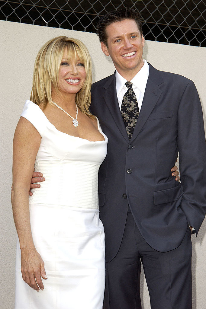 pic of suzanne with her son