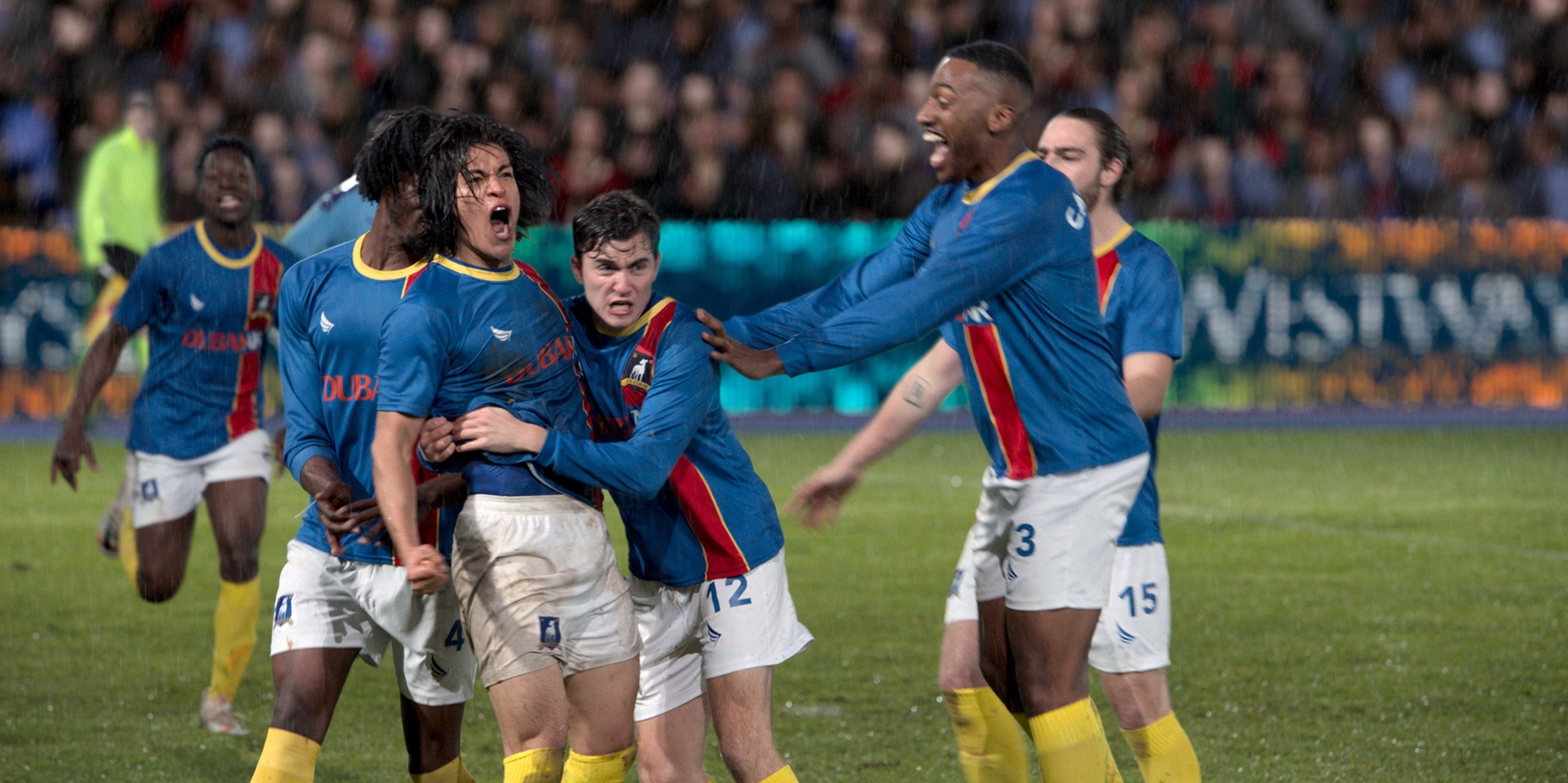 AFC Richmond celebrating during a game