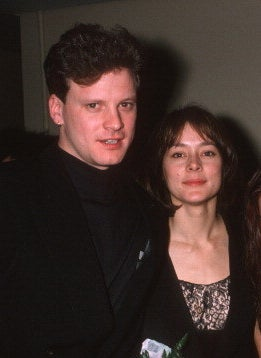 Colin Firth and Meg Tilly
