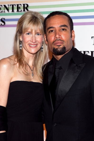 Lara Dern and Ben Harper while married