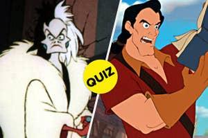 Cruella and Gaston