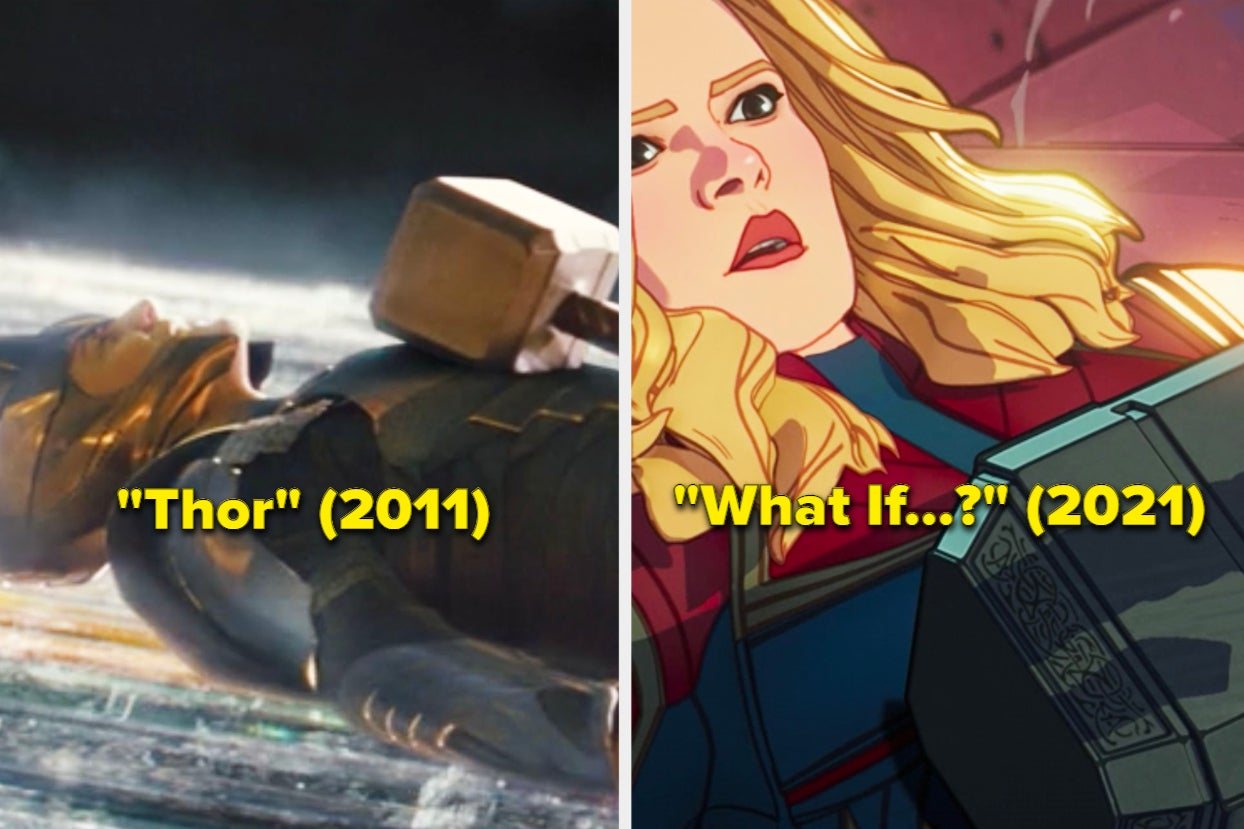 """25 """"What If...?"""" Details That Are Small, Incredible, And Make This Thor Episode So Great"""