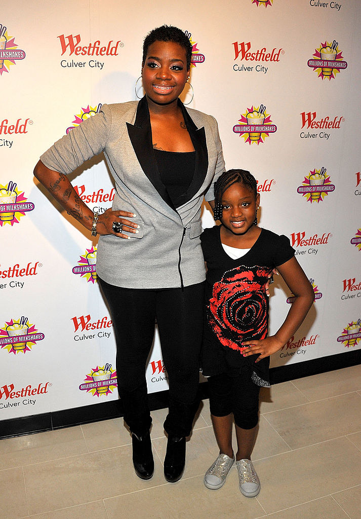 pic of fantasia with her daughter