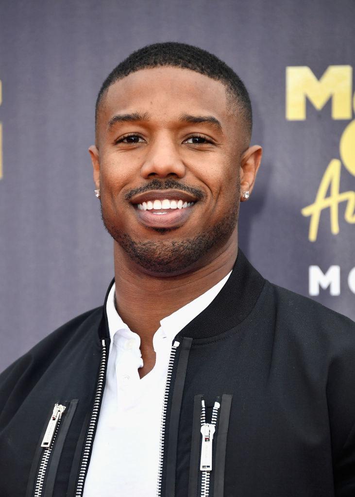 Michael B. Jordan attends the 2018 MTV Movie And TV Awards