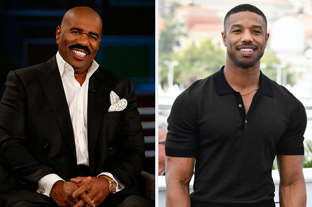 Steve Harvey Said He Was Surprised By How Michael B. Jordan Acted The First Time They Met
