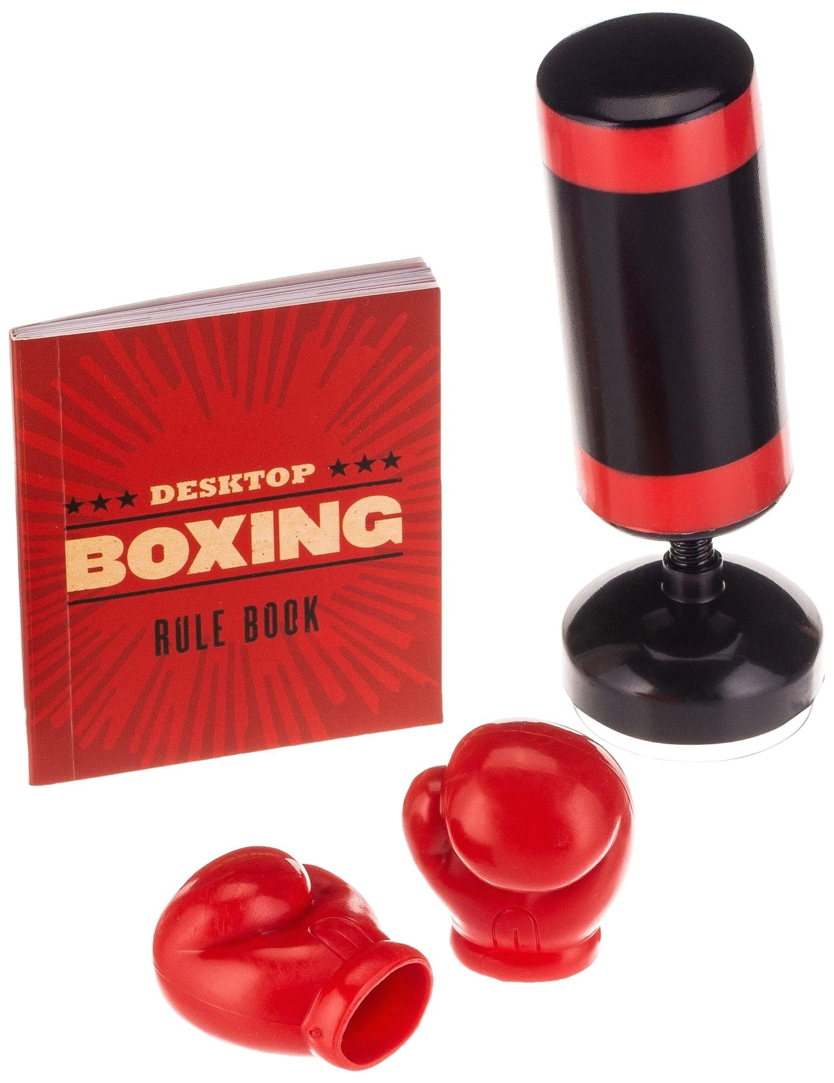 mini costalito de boxeo con un par de mini guantes