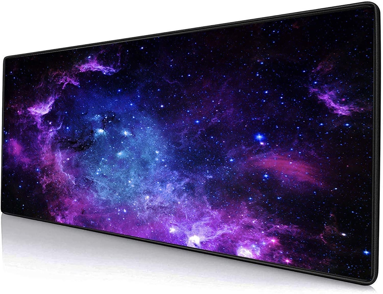 Mouse pad gigante con impresión de cielo estrellado