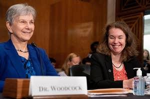 FDA acting director Janet Woodcock