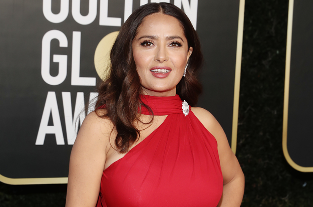 Salma Hayek Shared A Rare Photo Of Her Daughter, Valentina, In Honor Of Her 14th Birthday
