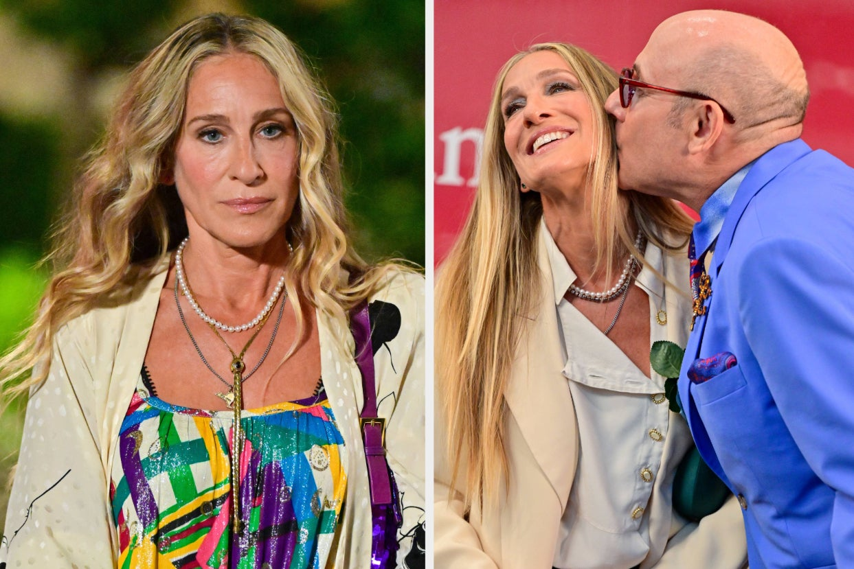 """Sarah Jessica Parker Said She's """"Not Ready"""" To Address The Death Of Her """"Sex And The City"""" Costar Willie Garson Just Days After She Mourned The Death Of Her Business Partner"""