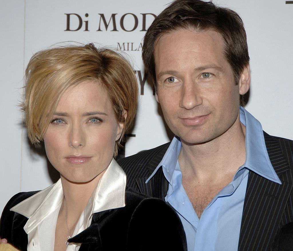 Téa Leoni and David Duchovny