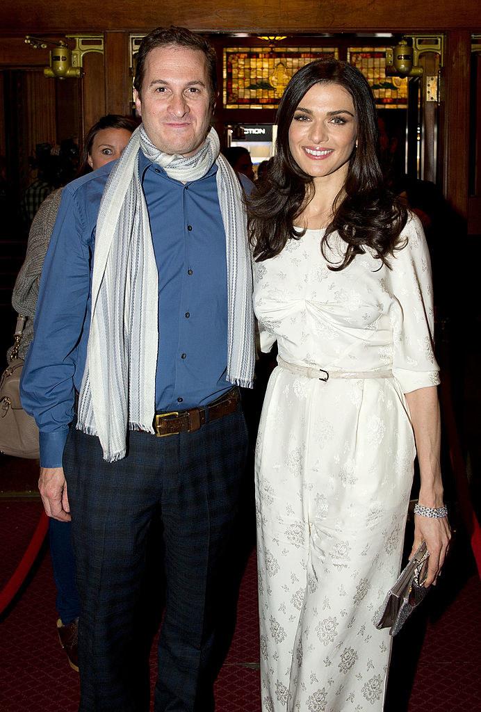 Rachel Weisz and Darren Aronofsky while dating
