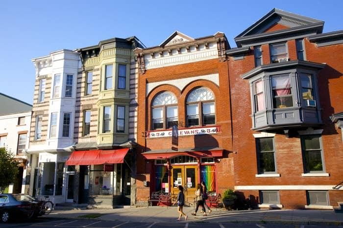 Warren Street in Hudson