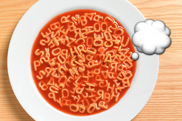 If You're Brain Is Feeling Extra Soupy Today, Let's Find Out What Kind Of Soup It Is