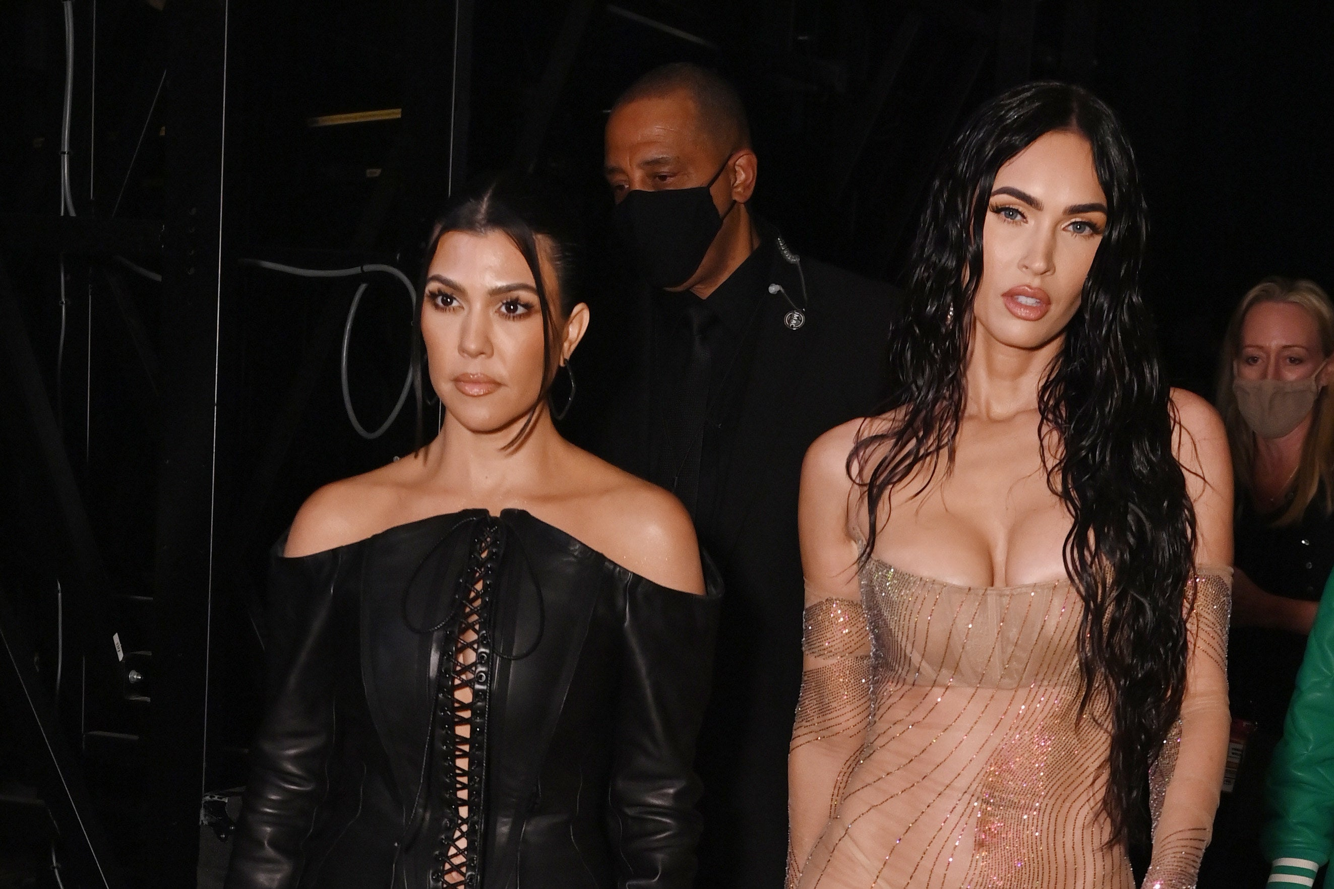 Kourtney Kardashian And Megan Fox Were Accused Of Copying Draya Micheles Concept For Their SKIMS Shoot