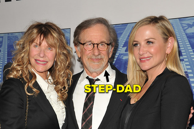 Everyone In Hollywood Is Related, And These 13 Step-Relatives Are All The Proof You Need