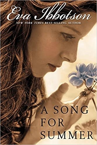 Book cover shows a sepia filtered picture of a girl holding a flower with title text in bottom right corner