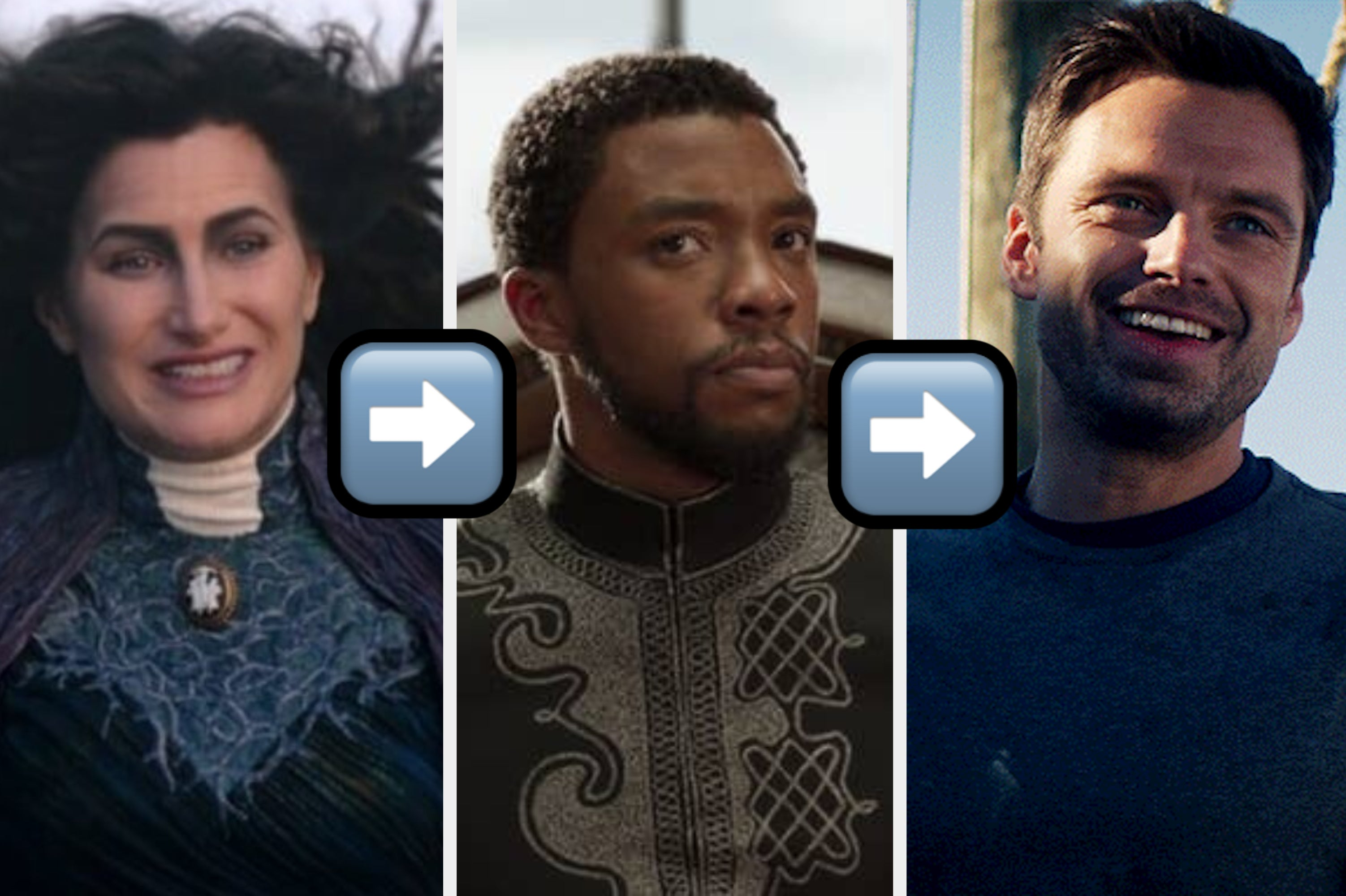 Choose Between These Marvel Characters And We'll Tell You If You're More Like Sam, Sharon, Bucky Or Zemo