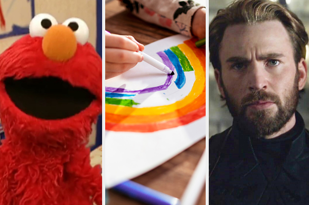 Go Back To School For A Day To Reveal What Combo Of Sesame Street And Marvel Characters You Are