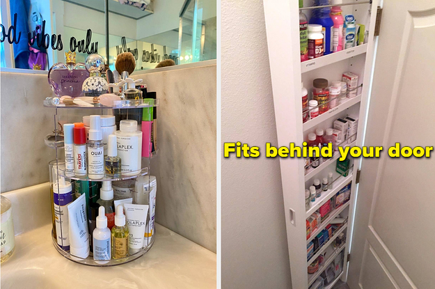 If Your Bathroom Has Very Little Storage Space, These 23 Things Will Help You Maximize What You've Got