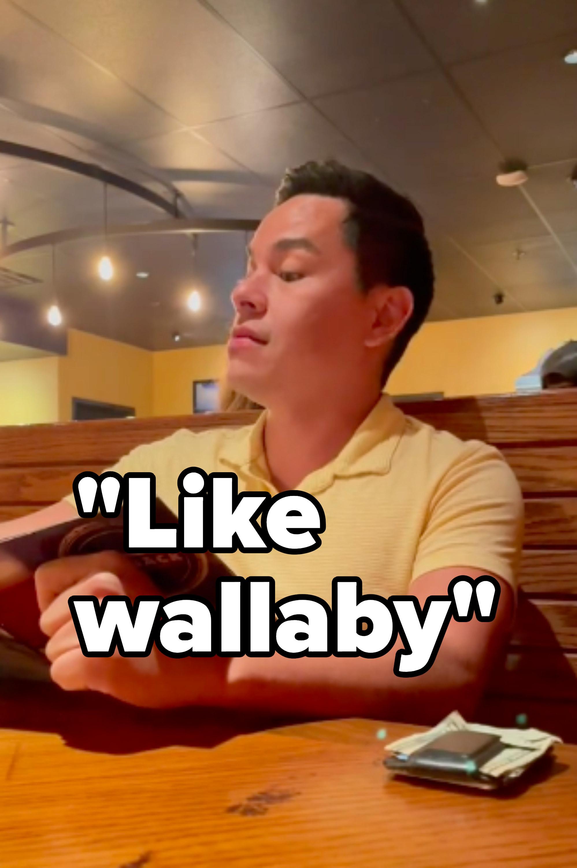 like wallaby