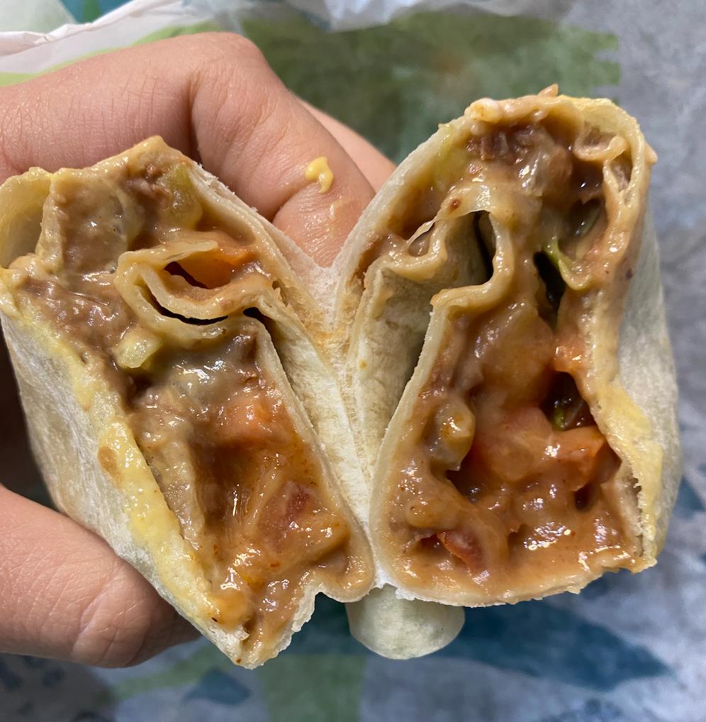 pic of burrito