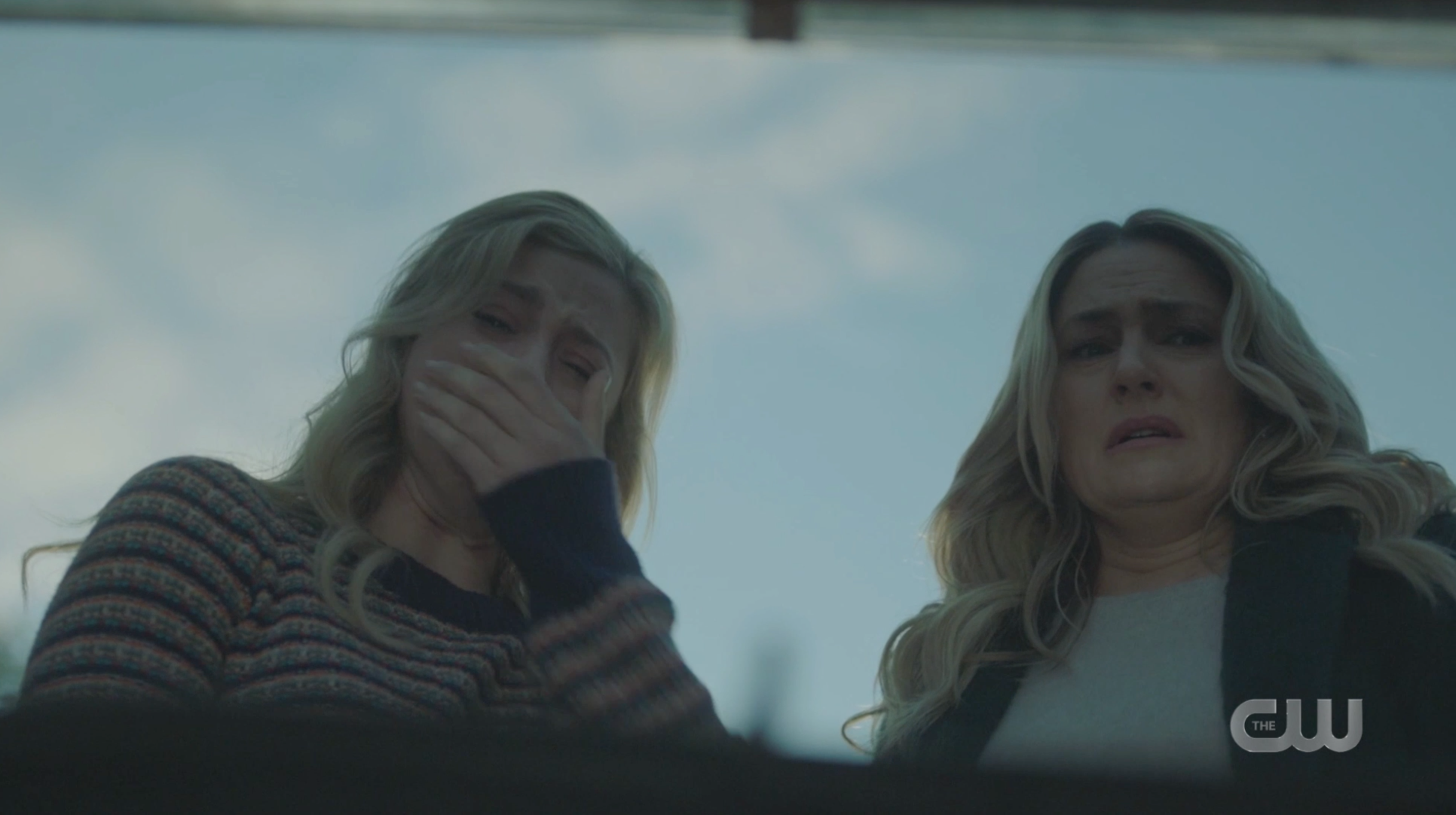 Betty and Alice crying