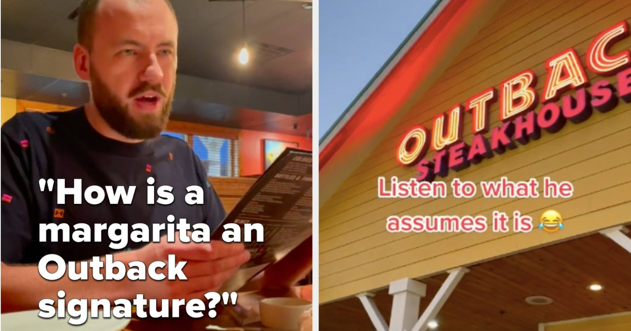 This American Took His Australian Boyfriend To Outback Steakhouse To Find Out How Authentic Outback Is