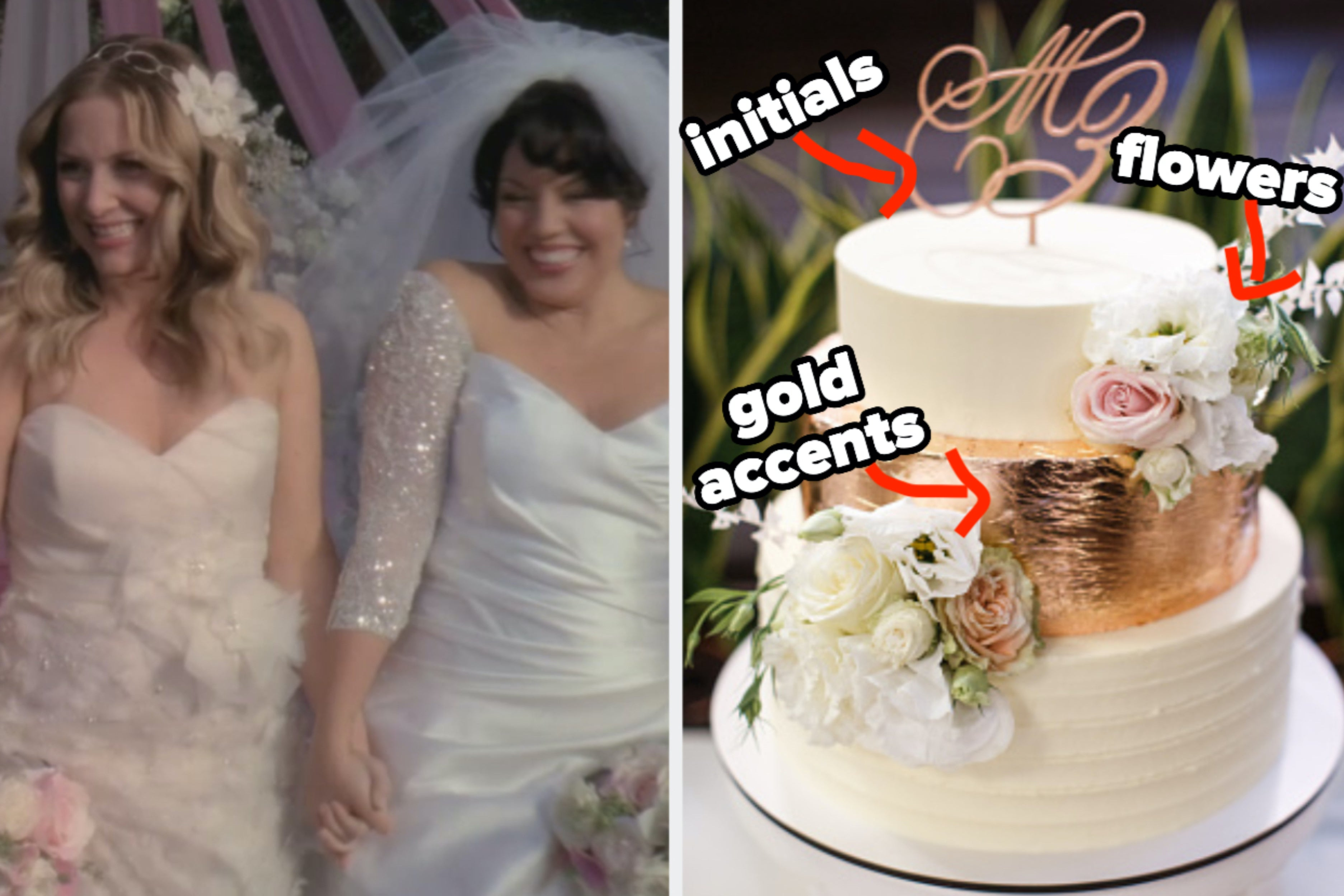 I Promise That I'm Not Psychic Or Anything, But I Know What Kind Of Style Your Wedding Cake Will Be Based On The Wedding You Plan