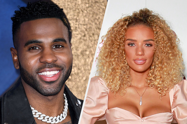 """Hmm, Jason Derulo Tweeted That He And Jena Frumes Have Broken Up — Just A Day After She Wrote """"I'm So Grateful For The Love We Share"""" On Instagram"""