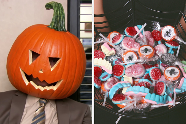 Eat Candy, Candy, And More Candy And We'll Tell You What You Should Be For Halloween