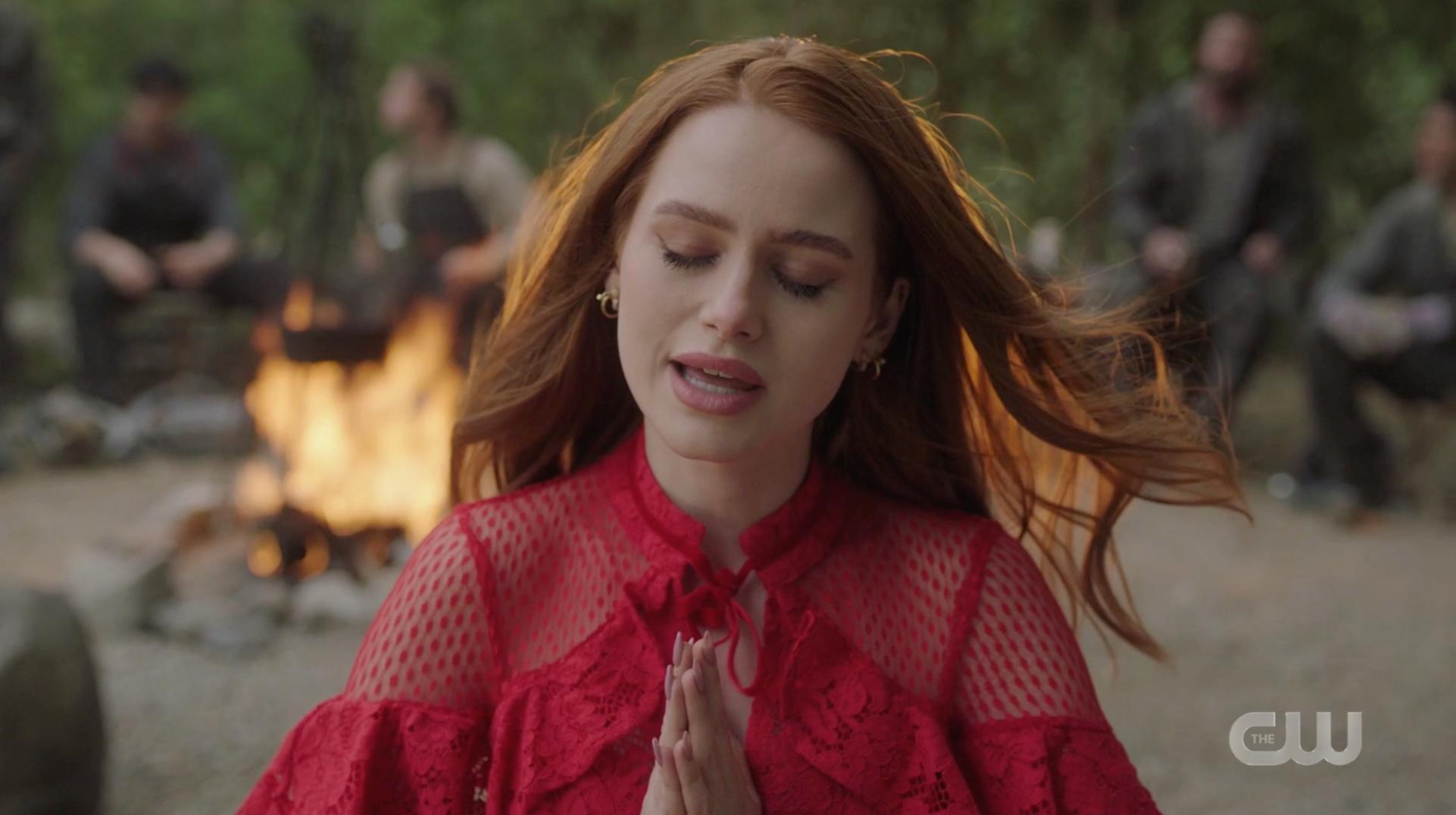 Cheryl praying
