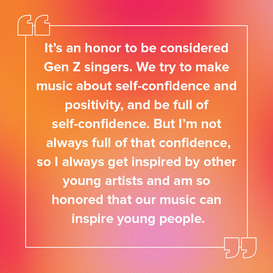 RYUJIN pull quote about how it's an honor to be Gen Z